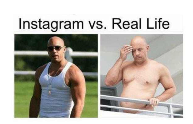 Instagram Vs  Reality – Competition: It's No Game